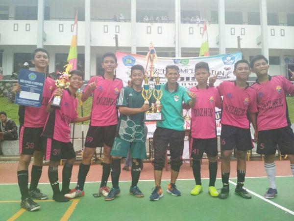 Juara Umum Kompetisi Sepak Bola Liga Bupati