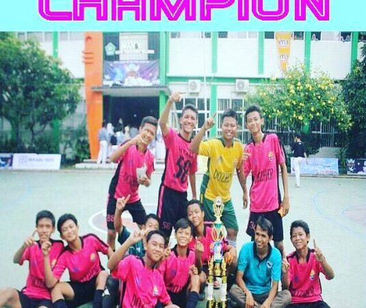 Juara 1 Tingkata Nasional Futsal