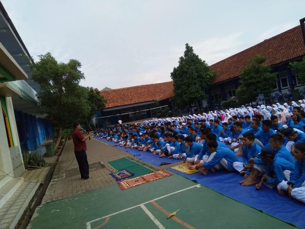 Meraih Berkah Melalui Duha bersama di SMP Negeri 7 Kota Tangsel