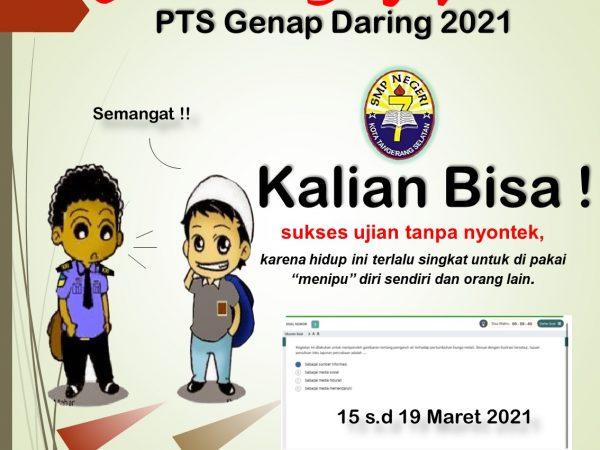 Jadwal PTS Genap 2021