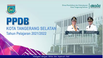 Jadwal PPDB SMP Negeri Kota Tangerang Selatan 2021/2022.